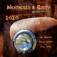 Weathered & Rusty 2020 Wall Calendar / Accepting Orders Now / Early December Delivery